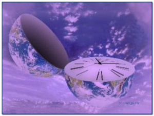 земля часы