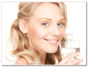 красиво пить воду