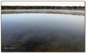 коричневое озеро